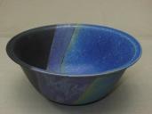 Schüssel, blau/violett/schw., 25x13,5cm, 29 Euro