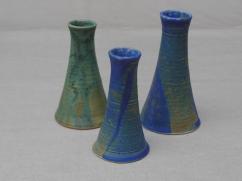 Vasen, verjüngend, grün 11 cm, 11 Euro