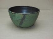 kleine Schüssel, grün/schwarz, 16x9,5cm, 16 Euro