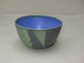 große Müslischale, grün/violett, 13,5x8cm, 13 Euro