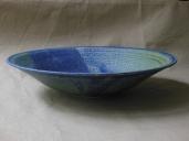 Schale, blau, 26,5x6cm, 25 Euro